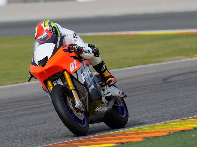 Casey Stoner, el mejor de los test de Valencia de MotoGP