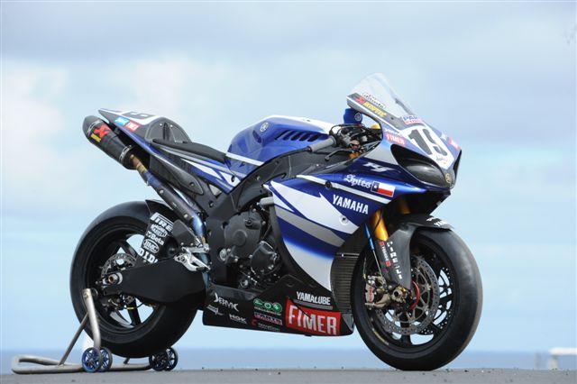 Imagen de Galeria de La Yamaha R1 SBK de Ben Spies