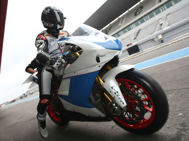 Imagen de Galeria de Shane Byrne ficha por Ducati Althea