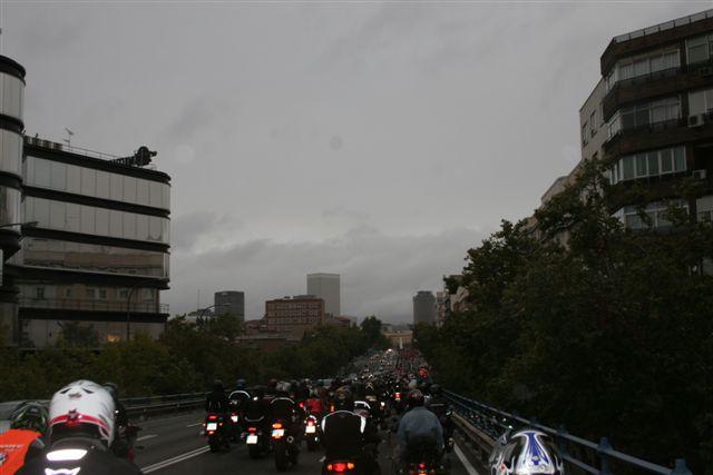 60.000 motoristas en la manifestación motera