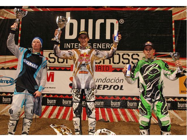 Imagen de Galeria de Marvin Musquin se impone en el Supercross Solidario de Madrid