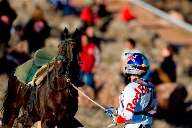 Cervantes, Coma, Raga, Roma y Barragán en el Enduro Don Quijote