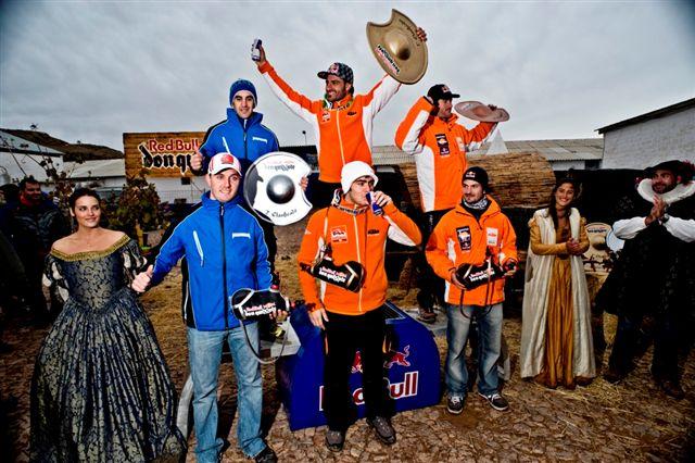 Iván Cervantes y Lorenzo Santolino, vencedores del Enduro Red Bull Don Quixote