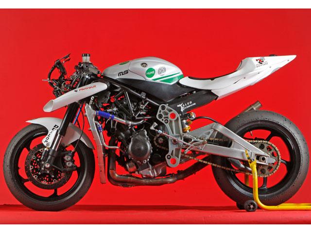 Moto2 de Hune Racing Team y la Universidad Carlos III