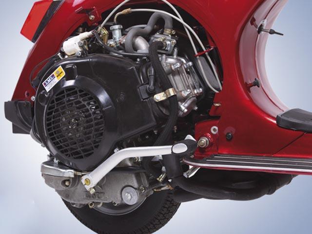 LML Star 4 Tiempos, la clásica Vespa PX con motor de cuatro tiempos