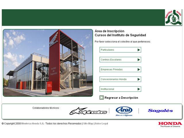 El Instituto de Seguridad de Honda presenta los cursos 2010