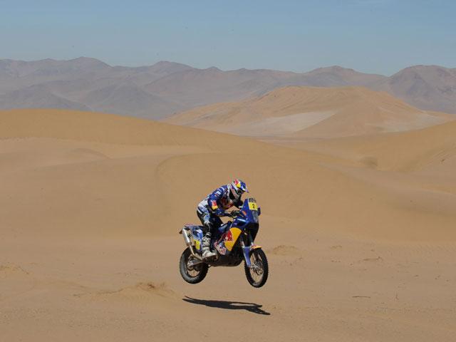 Marc Coma vence la cuarta etapa del Dakar 2010