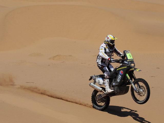"""""""Chaleco"""" López se adjudica la quinta etapa del Dakar"""
