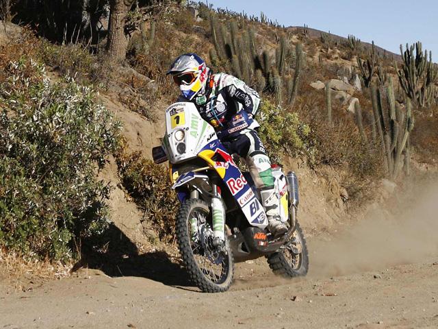 Verhoeven se lleva la undécima etapa del Rally Dakar 2010