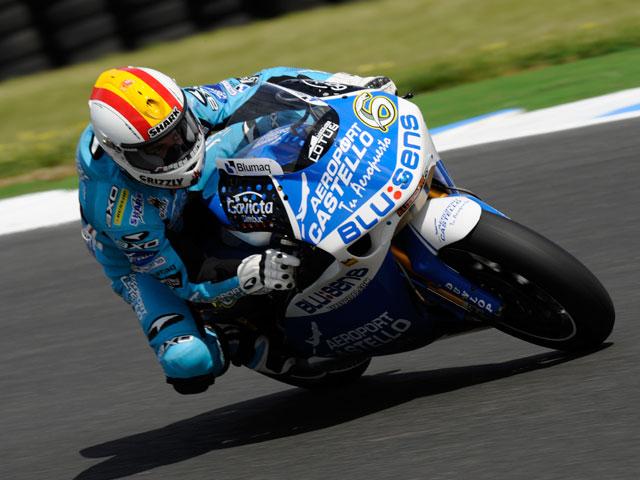 Alex Debón con FTR en el Mundial de Moto2