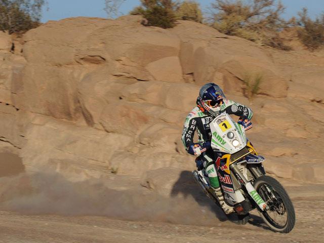 Ullevalseter, victoria y casi número 2 en el Dakar 2010.