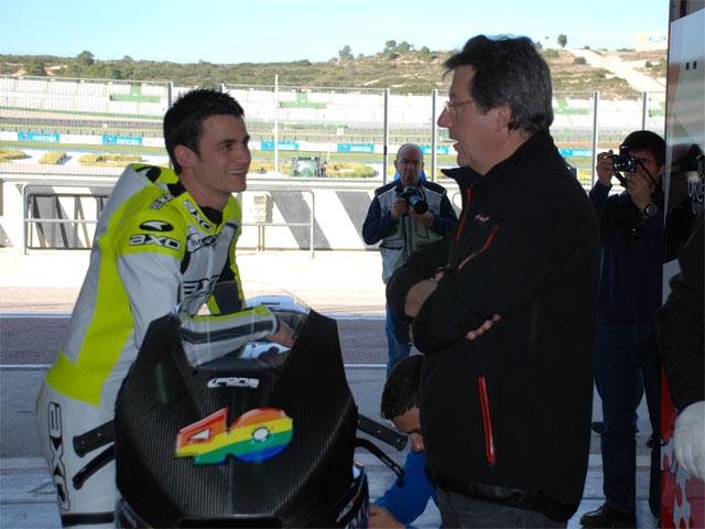 Sergio Gadea, piloto del Pons Racing en Moto2
