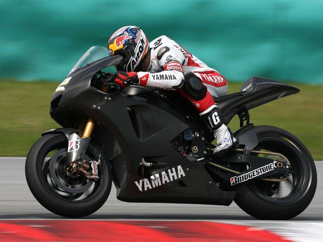 Los entrenamientos de Moto2 en Valencia, pasados por agua