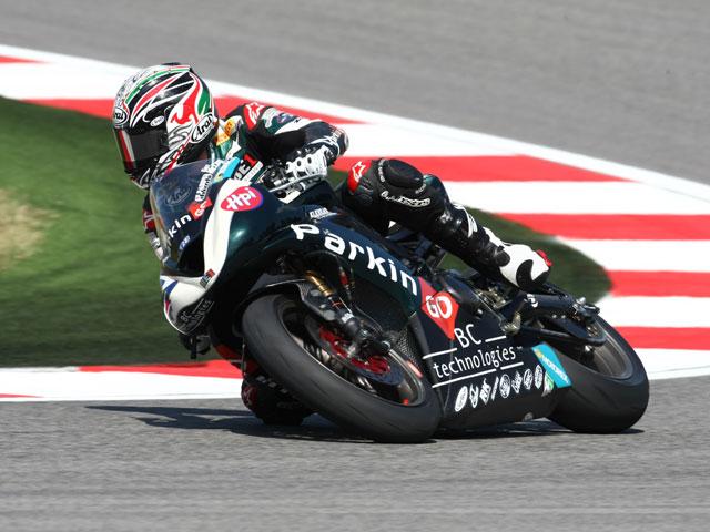 Garry McCoy en MotoGP con FB Corse