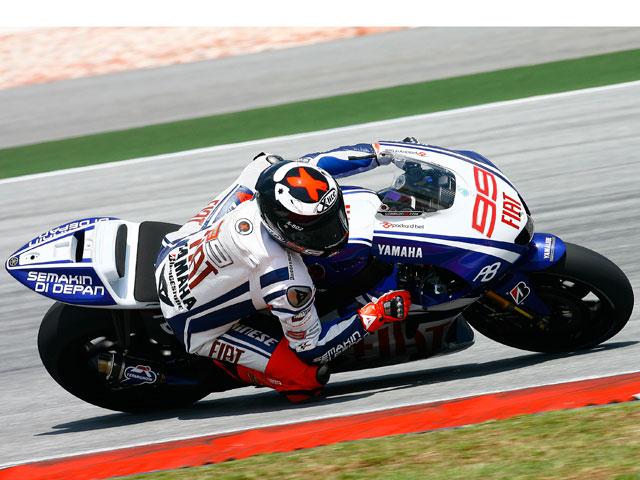 Valentino Rossi, el más rápido en Sepang