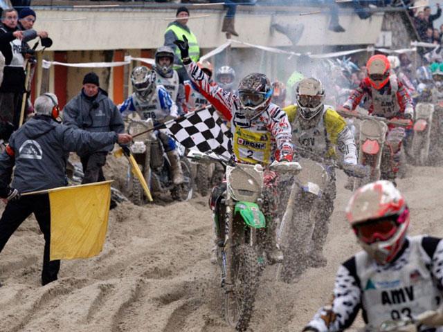 Mickael Pichon se impone en el Enduropale Le Touquet