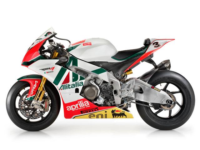 Presentacion de la Aprilia RSV4 oficial de Superbikes