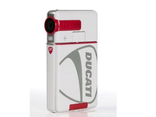 Ordenador y videocámara Ducati, por Toshiba