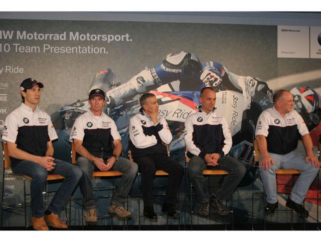 Troy Corser y Rubén Xaus en el BMW Motorrad Motorsport