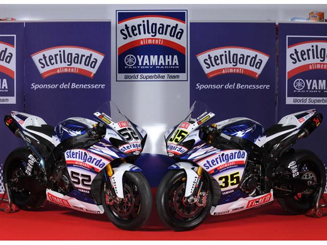 Presentación del Yamaha Sterilgarda de SBK
