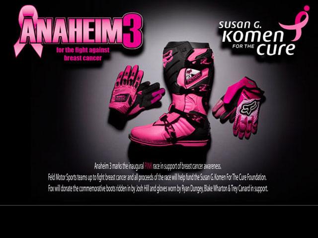 Imagen de Galeria de El Supercross americano se moviliza contra el cáncer