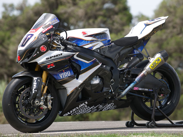 Imagen de Galeria de Viru, nuevo patrocinador de Suzuki en Superbikes