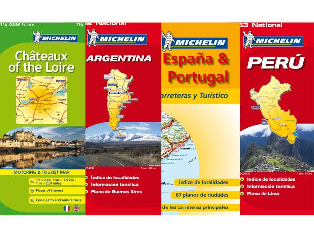 Mapas y atlas Michelin 2010