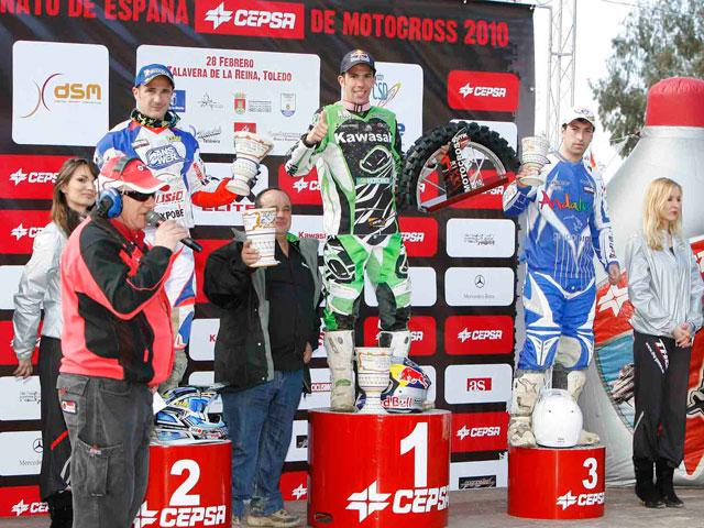 Barragán y Butrón se imponen en la primera del Nacional de Motocross