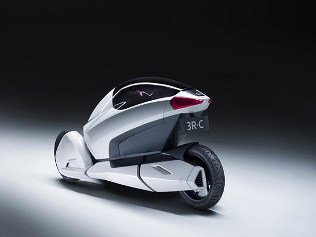 Honda 3R-C: eléctrico, tres ruedas y cero emisiones