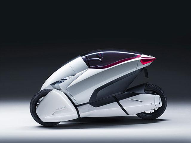 Imagen de Galeria de Honda 3R-C: eléctrico, tres ruedas y cero emisiones