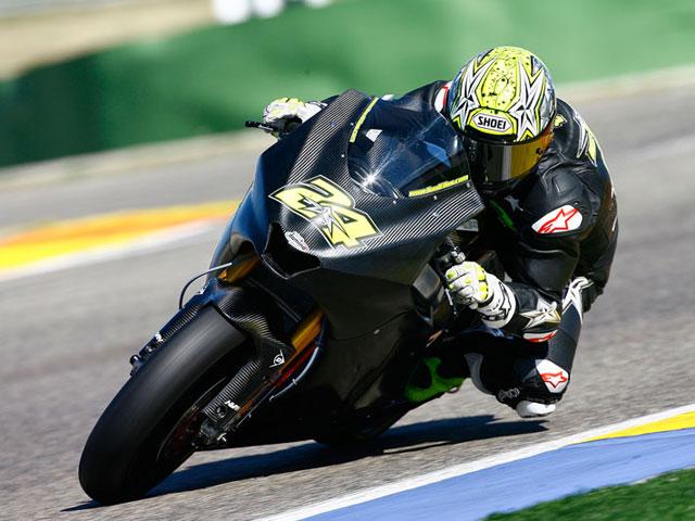 Fotos de los entrenamientos de Moto2 y 125 cc en Valencia