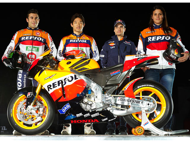 Presentación del Repsol Honda Team de MotoGP