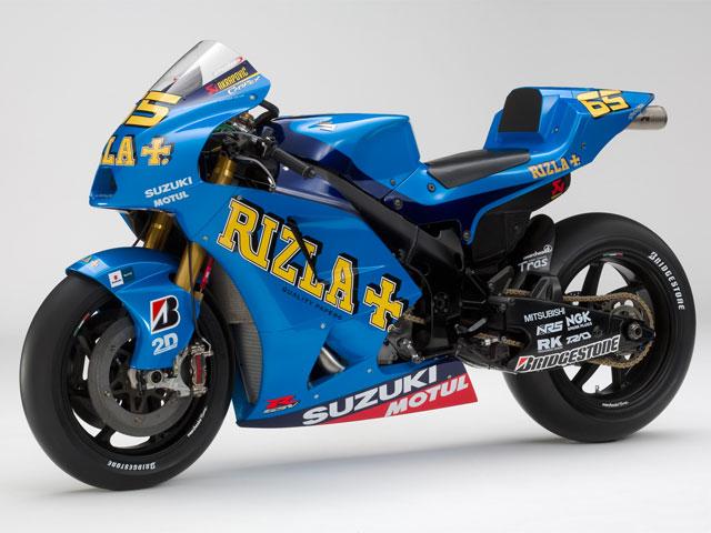 Imagen de Galeria de Rizla Suzuki GSV- R 2010, primeras imágenes