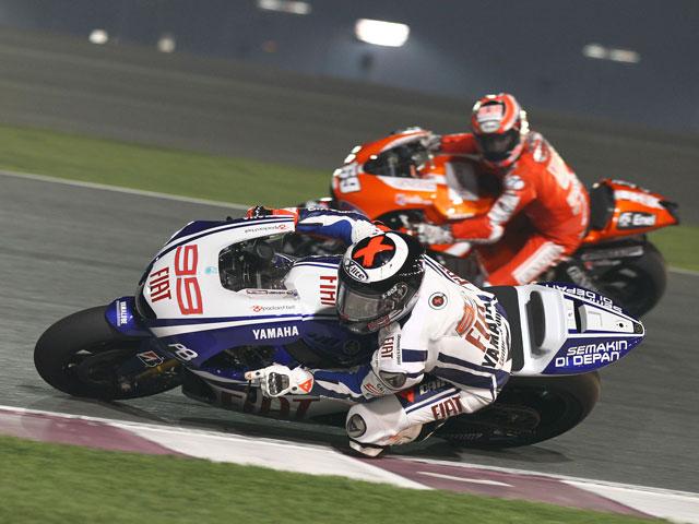 Imagen de Galeria de Valentino Rossi fue el más rápido en la primera sesión de MotoGP de Qatar