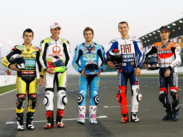 Casey Stoner, el más rápido de los entrenamientos MotoGP de Qatar