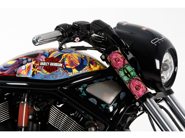 Imagen de Galeria de Harley Davidson Night Road Special vestida por Custo