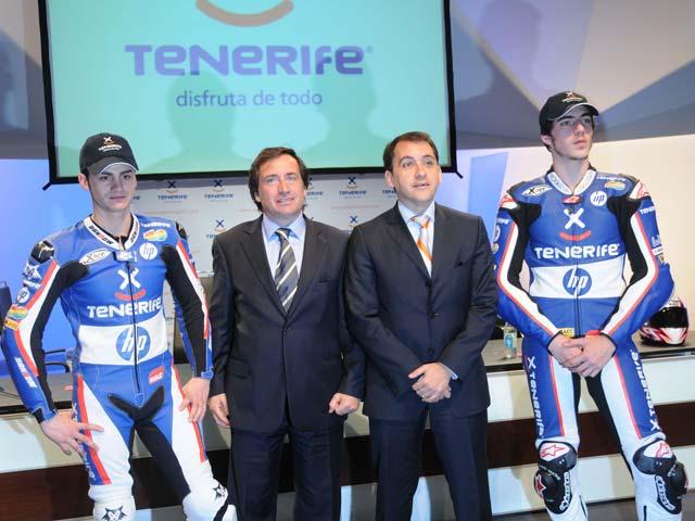 Imagen de Galeria de Sito Pons presenta el equipo Tenerife 40 Pons