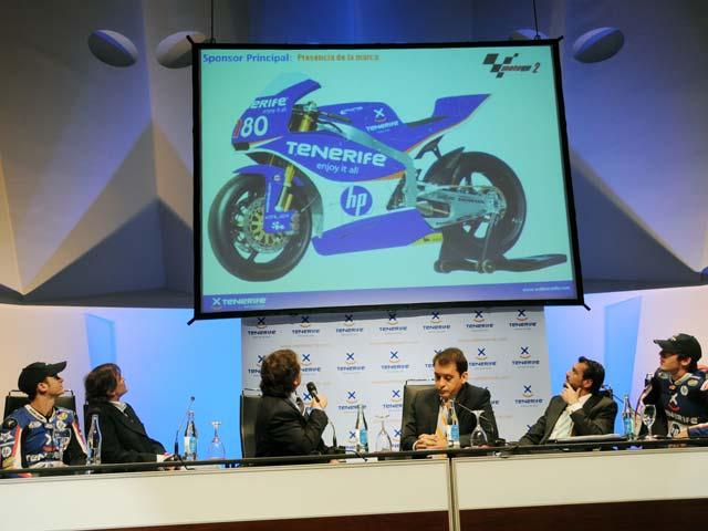 Sito Pons presenta el equipo Tenerife 40 Pons