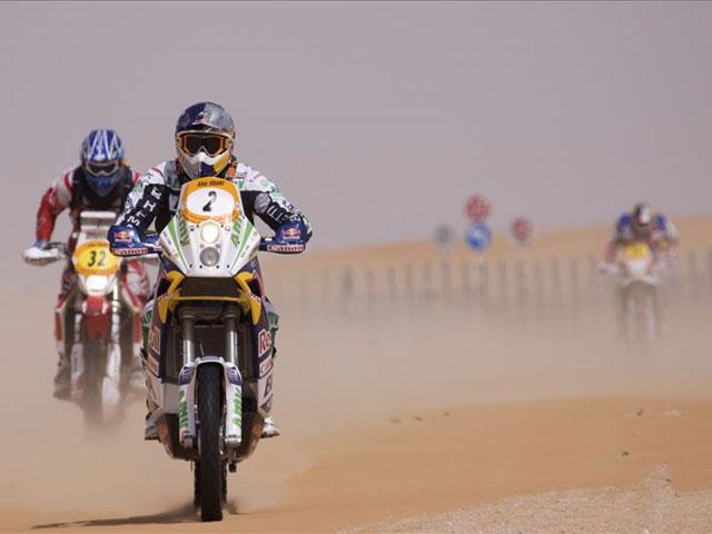Marc Coma conquista el Rally de Abu Dhabi