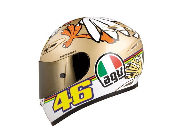 "Casco AGV ""The Chicken"" de Valentino Rossi"