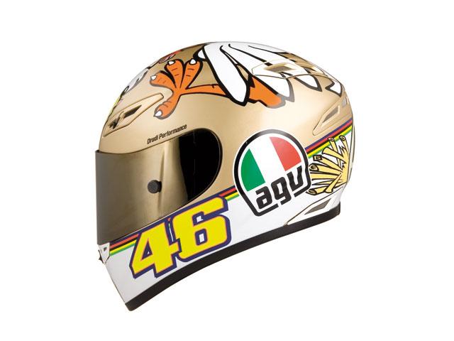"""Casco AGV """"The Chicken"""" de Valentino Rossi"""