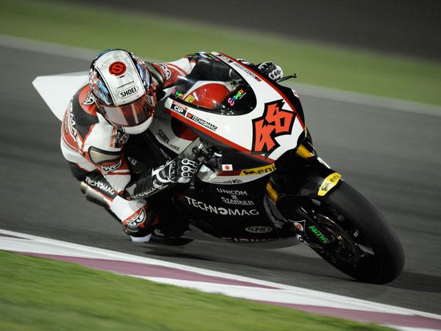 Imagen de Galeria de Tomizawa, Debón y Cluzel, primer podio de Moto2