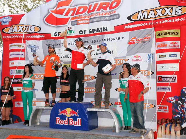 Buena actuación de los españoles en Valverde