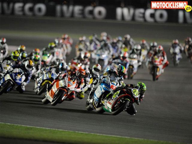 Imagen de Galeria de Fotos de las carreras de Moto2 y 125 cc en Qatar
