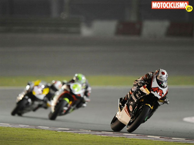 Fotos de las carreras de Moto2 y 125 cc en Qatar