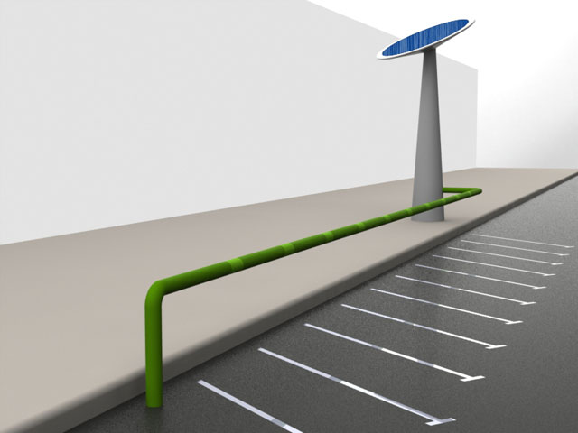 Imagen de Galeria de MOBECPOINT, punto multiusuario de recarga eléctrica para motos