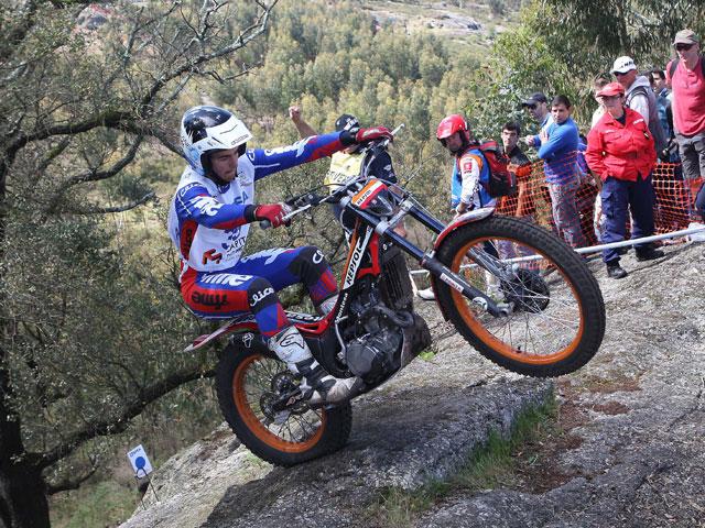 Bou y Fujinami se llevan las victorias en el Mundial de Trial de Portugal