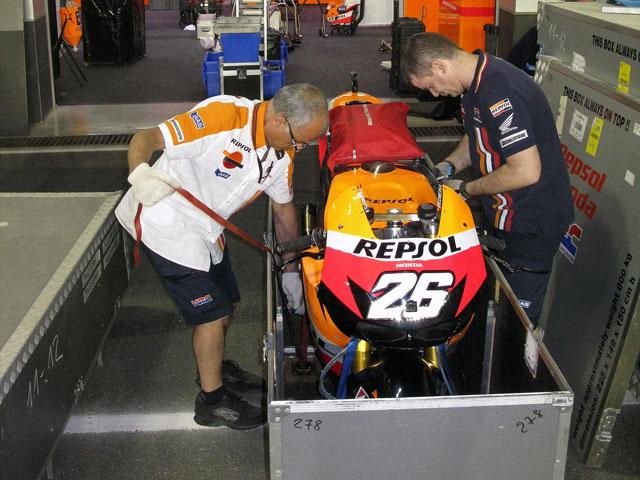 Un laboratorio para MotoGP