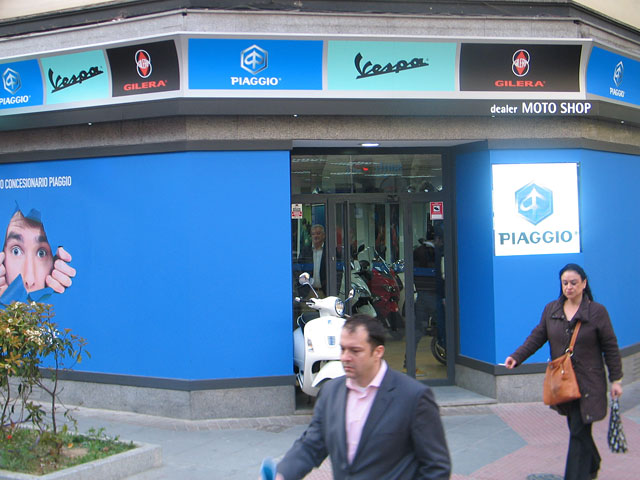 Nuevo concesionario Piaggio en Madrid