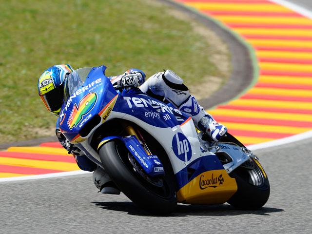 Victoria para Andrea Iannone en Moto2. Sergio Gadea, segundo